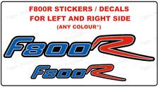 F800R calcomanías/Pegatinas Para BMW F800 R (Par) (cualquier Color * Diseño) (#2)