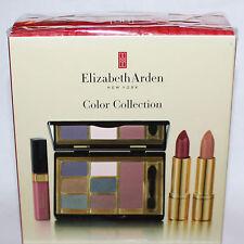 Elizabeth Arden Color Collection Eyeshadow/Blush/Lipstick/Lip Gloss Set **