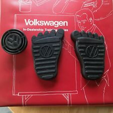 VW Foot Brake, Clutch, Dimmer, Pedal Pad Cover Set dune buggy oval split kdf