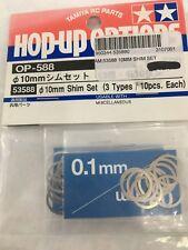 NEW  Shim Set 10mm 3 types 10pcs suit Tamiya Vintage part #53588