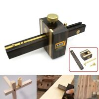 8 inch Marking Gauge Wood Scribe Mortise Gauge + Brass Screw Measuring Tool