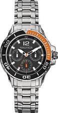 A21558M Nautica Multifunction Watch Black N21558M womens orange ladies diver new