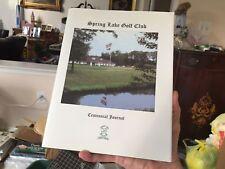 book Spring Lake NJ Golf Club Centennial Journal 1998 photos members history etc