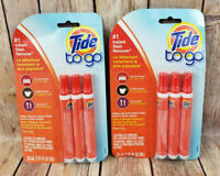 6 Tide To Go Instant Stain Remover 10mL Portable Pens Procter Gamble 2 Packs