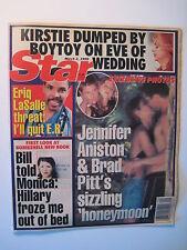 STAR Magazine 3-2-1999. Jennifer Aniston/ Brad Pitt! Eric LaSalle- E.R. tv show