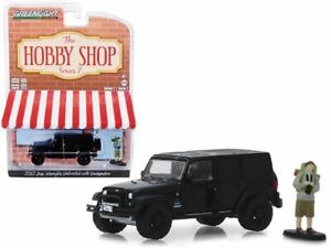 1:64 2012 Jeep Wrangler Unlimited w/Backpacker -- The Hobby Shop Series 7