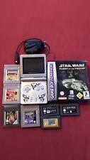 Nintendo Gameboy Advance SP Tribal Edition, Super Mario 3, Star Wars OVP, ...