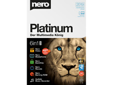 2463471 NERO 2019 Platinum Version - 4K Multimedia Suite - deutsch- NEU OVP