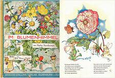 Reinheimer Else Wenz-Vietor Im Blumenhimmel 1929 Stalling Odenburg Bilderbuch