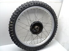 #4009 Yamaha YZ400 YZ 400 Aluminum Front Wheel & Tire