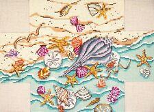 Seaside Treasures Brick Cover Door Stop HP Needlepoint Canvas ~ Needle Crossings