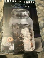 Sharper Image Digital Coin Money Counting Jar Bank   - New in Open Box