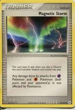 Pokemon Ex Hidden Legends Uncommon #91/101. Magnetic Storm