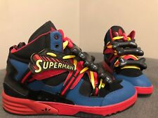 NEW!!!! Jeremy Scott Adidas Superman Bones, Size 13, RARE!!!!!!!
