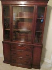 American Of Martinsville Mahogany China Cabinet Shipping Is Not Included