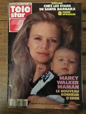 TELE STAR French n 654 Avril 1989 - Marcy WALKER Santa Barbara Kim BASSINGER