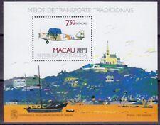 Macau Macao 1989 Block 11 ** MNH postfrisch Flugzeug Airplane Michel 40,-- €