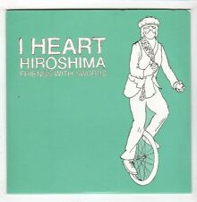 (HB811) I Heart Hiroshima, Friends With Swords - 2009 CD