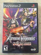 Xtreme Legends Samurai Warriors ( Sony Playstation 2 ), PS2 ,Complete , CIB