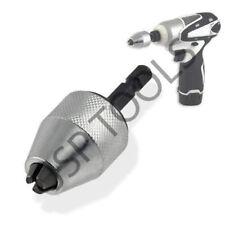 """Para Makita-controlador de impacto Dewalt 1/4"""" Adaptador De Mandril Sin Llave Drill Bit gran Kit!"""