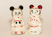 Mickey & Minnie Mouse Leeds China Salt & Pepper Shakers