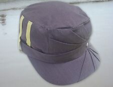 Nobis Plaid Women's Cotton Gray Military Style Cap