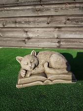 Béton Cat Memorial, Pet Memorial, Tombe Ornement, Le Prix Comprend La livraison