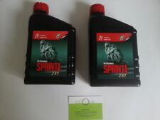 Huile Petronas Sprinta 2XT Mélangeur 2 Litres Piaggio Zip Runner NRG Aprilia
