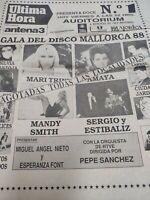 Vicky Larraz/ Tino Casal.1988.