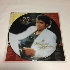 Vinyl LP Record - Michael Jackson - Thriller - 25th Anniversary Picture Disc VG+
