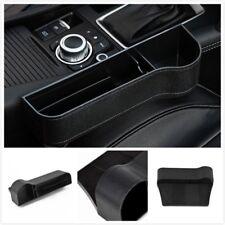 Auto Car Seat Gap Storage Box Organizer Coin Console Right Side Pocket Black GL