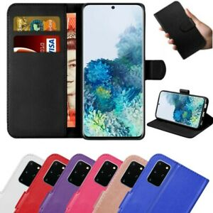 Case for Samsung Galaxy S20 S10e S9 S8 Plus Cover Wallet Leather Magnetic Luxury