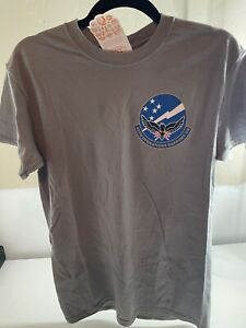 US Air Force 49th OSS Holloman AFB F-22 Raptor Fighter Gray T-Shirt
