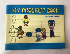 Vintage 1973 Yamaha Music Education Project Book One Keyboard Illustrated Songs
