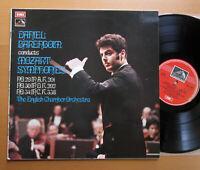 ASD 2806 Daniel Barenboim Conducts Mozart Symphonies 29 30 34 EMI Stereo VG/VG