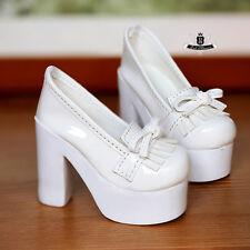 1/3 BJD Shoes Supper Dollfie Shoes DREAM Luts AOD DOD MID white High heels 0510