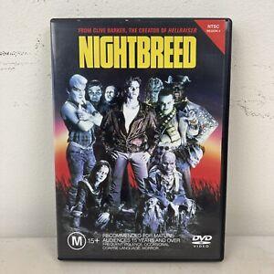 Nightbreed DVD Clive Barker Rare NTSC Region 4 VGC + Free Postage