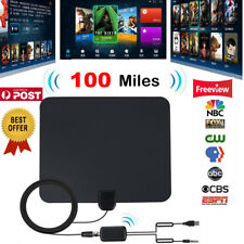 HD Antenna EZ Digital TV FOX HDTV Bandit Cable Free Skywire Easy Channels 20 LG