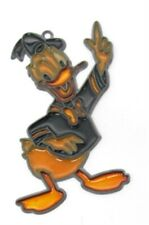 Donald Duck Walt Disney Vintage Suncatcher Sun Catcher 5 inch tall