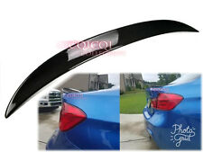 Carbon BMW 12~18 F30 3-series Sedan high kick performance type trunk spoiler @US