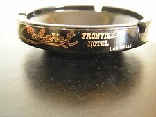 Frontier Hotel Cabaret Gourmet Room Ashtray Hughes Vintage 1969 New Condition