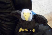 "Wishpets Eagle Plush named Arley 9"""