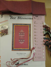 Bee Blossoms Sampler • Just Nan • Cross Stitch Pattern Complete Kit 1996 OOP