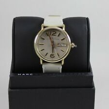NEW AUTHENTIC MARC BY MARC JACOBS FERGUS GOLD GREY LADIES WOMEN'S MBM8654 WATCH