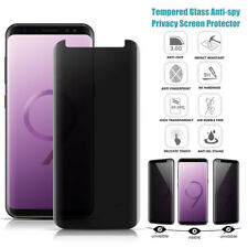 For Samsung Galaxy S9 Case Privacy Anti-Spy Tempered Glass Screen Protector