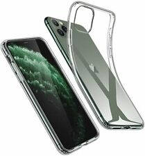 For Apple iPhone 11 Pro Clear Case Transaprent Cover Soft TPU Bumper Slim Thin