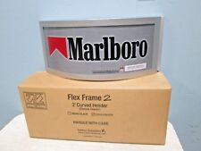 "*BNIB* ""HARBOR IND."" ""MARLBORO"" 24"" CONVEX CURVED HEADER FOR CIGARETTE DISPLAY"