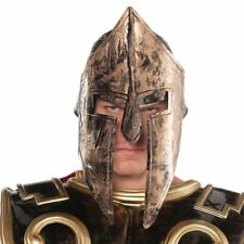 Adult Mens 300 Spartan Roman Gladiator Warrior Helmet Hat Fancy Dress Accessory