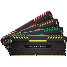 Corsair CMR32GX4M4C3333C16 Vengeance RGB LED 32 GB 4 X 8 GB Ddr4 3333 Pc4-26600