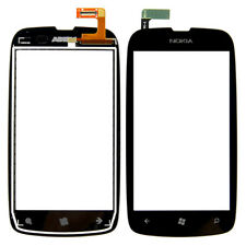 New Nokia OEM Front Touch Screen Digitizer Glass Lens for LUMIA 610 - BLACK
